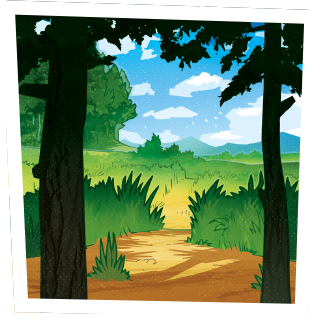 Microbes de la forêt